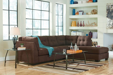 Picture of HAYES WALNUT SECTIONAL - 45201-66-17