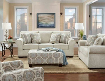 Picture of ROSE LINEN SOFA AND LOVESEAT - 344