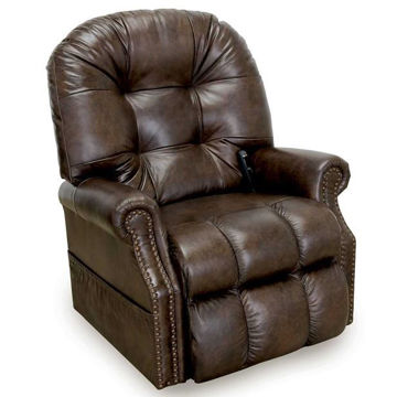 Picture of AUSTIN BROWN LEATHER LIFT RECLINER - 660