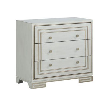 Picture of 3 DRAWER IVORY CHEST - 30521