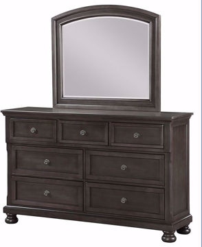 Picture of FRANKLIN MIRROR - GREY - 1061