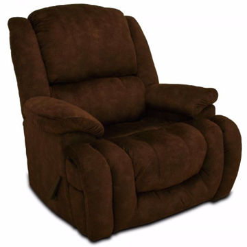 Picture of CHOCOLATE MICROFIBER RECLINER - 4538
