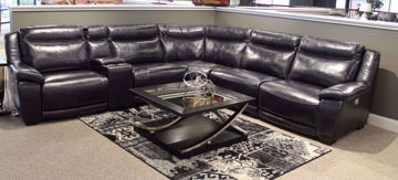 Picture of GENESIS POWER HEADREST SECTIONAL - 5321