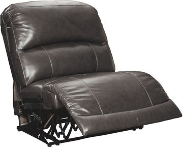 Picture of ARMLESS RECLINER- GRAY