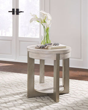 Picture of APOLLO ROUND END TABLE - T673