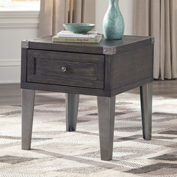 Picture of TOLEDO RECTANGULAR END TABLE - T901