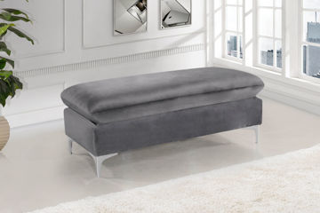 Picture of NAOMI GREY OTTOMAN - 636