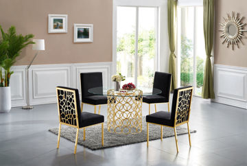 Opal Gold Dining Table