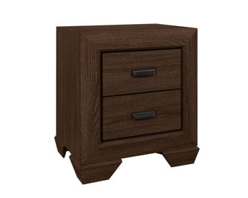 Picture of BIG SUR CHOCOLATE NIGHTSTAND - 5510