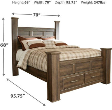 Picture of BRADLEY QUEEN STORAGE BED