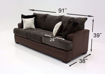Picture of AKAN MOCHA SOFA - 3650