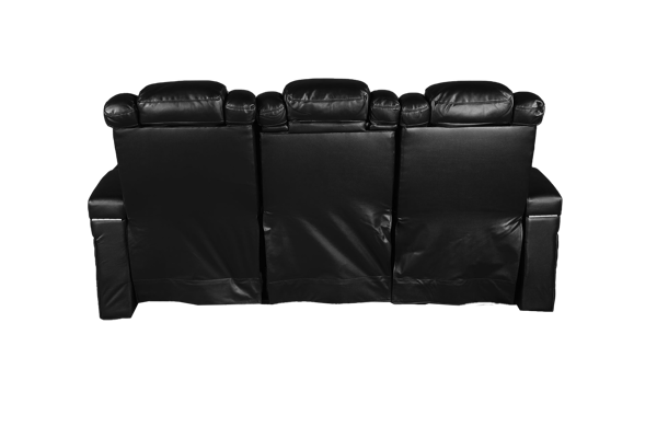 Picture of PINNACLE BLACK SOFA W/POWER HEADREST - 2216
