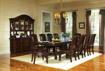 Picture of ANTOINETTE 7 PC DINING SET - AY200
