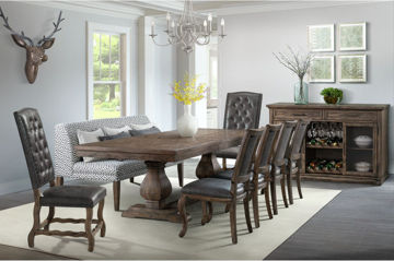 Picture of GRAMMERCY FORMAL DINING SET - C500