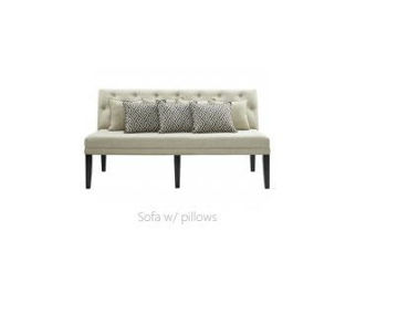 Picture of MADDOX DINING SOFA - 140