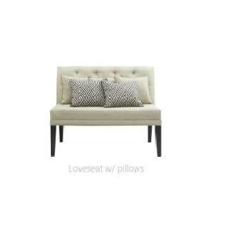 Picture of MADDOX DINING LOVESEAT