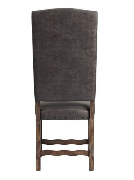 Picture of GRAMMERCY TUFTED TALL CHAIR - C500