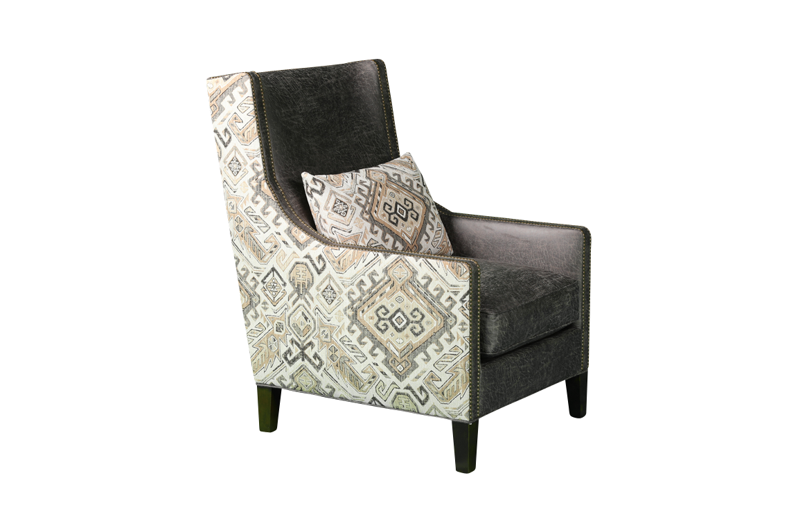 Picture of DAKOTA SMOKE ACCENT CHAIR - 650