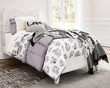 Picture of SELENA WHITE TWIN BED - B181