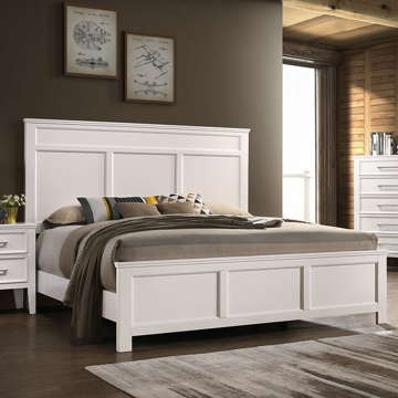 Picture of DELIA WHITE KING BED - 677
