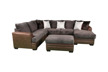 Picture of AKAN MOCHA SECTIONAL - 6810