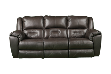 Picture of LATITUDE FOSSIL LEATHER RECLINING SOFA - 751