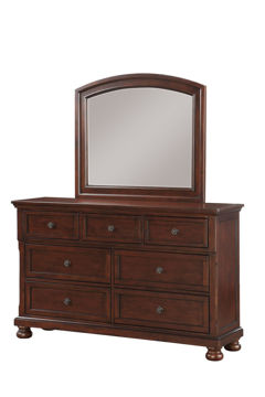 Picture of FRANKLIN KING BEDROOM SET - CHERRY - 961