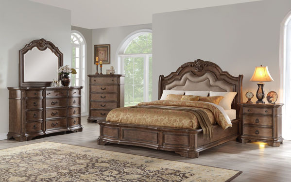 Picture of SAN MATTHIEU KING BEDROOM SET - 1495