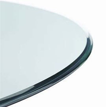 """Picture of 60"""" CLEAR GLASS TOP- OGEE EDGE - 0906"""