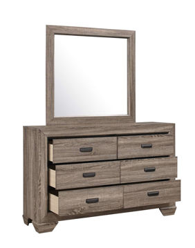 Picture of ALICE NATURAL MIRROR - B5500