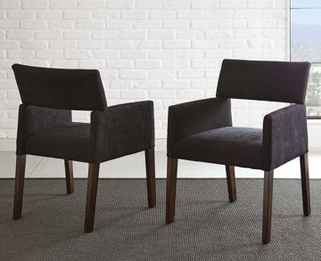 Picture of JULE BLACK DINING CHAIR