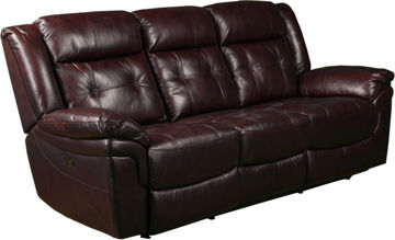 Picture of GENESIS POWER LEATHER RECLINING SOFA - 5700