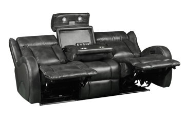 Picture of BOLERO SLATE POWER HEADREST SOFA - 70083