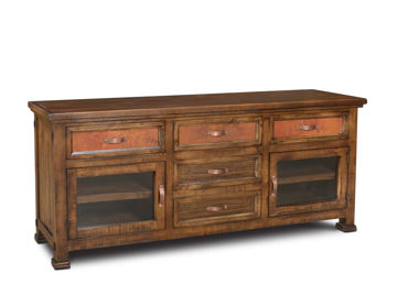 """Picture of COPPER CANYON 74"""" TV STAND - 2245"""