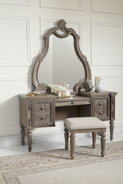 Picture of SANCTUARY VANITY STOOL - 098
