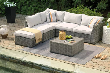 Picture of AXIOM 4PC OUTDOOR SECTIONAL - P301