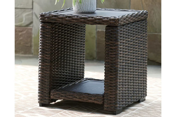 Picture of GRAYSON SQUARE END TABLE - P783