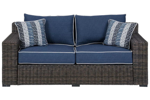 Picture of GRAYSON LOVESEAT W/CUSHION - P783