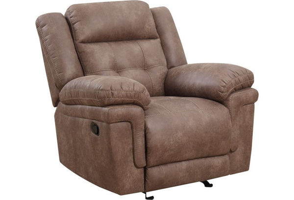 Picture of ANASTASIA COCOA RECLINER - AT850