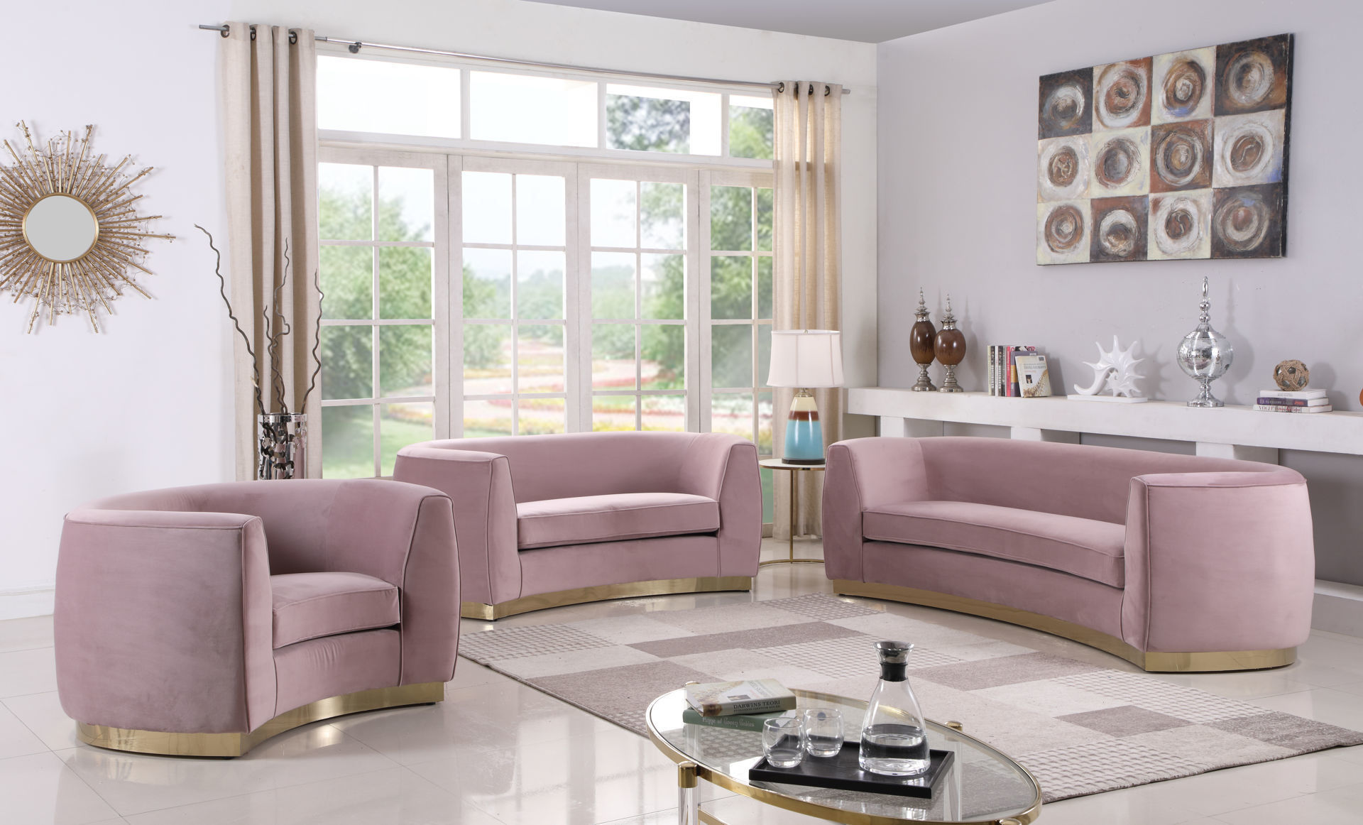 Picture of JULIAN PINK LIVING ROOM - 620