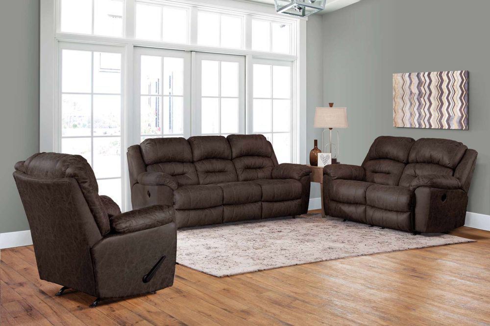 Picture of MORRISON POWER RECLINING SOFA - EARTH