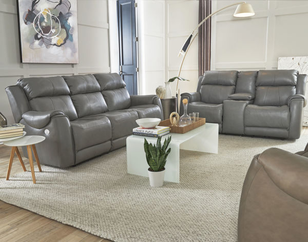 Picture of KIPLING FOG LEATHER POWER SOFA - 757