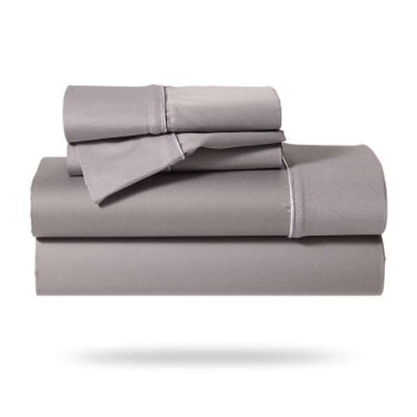 Picture of HYPERCOTTON QUEEN SHEET SET-GREY