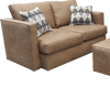 Picture of PALANCE BROWN LOVESEAT - S298
