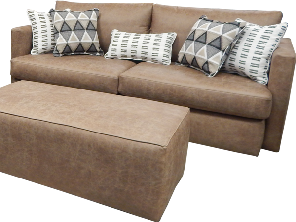 Picture of PALANCE BROWN SOFA - S298