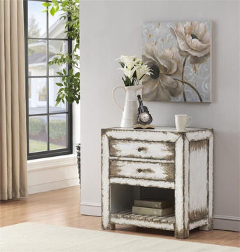 Picture of 2 DRAWER ACCENT TABLE - 40207