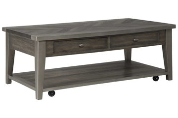 Picture of MYRNA RECTANGULAR COCKTAIL TABLE - T646