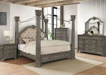 Picture of BEAUMONT QUEEN CANOPY BED - B1550