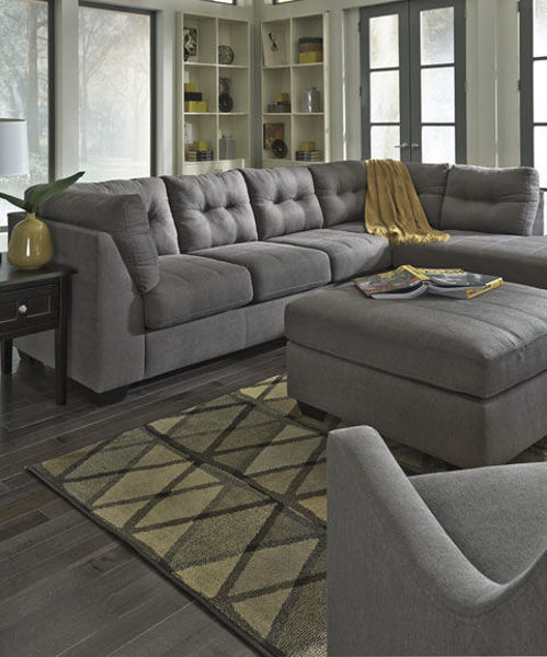Picture of HAYES CHARCOAL SECTIONAL - 45200-66-17