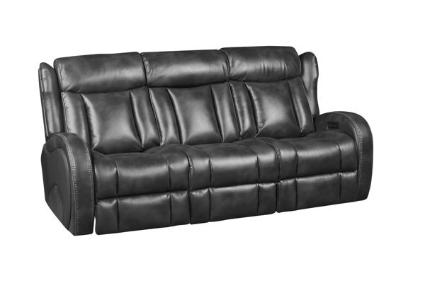 Picture of BOLERO SLATE POWER RECLINING SOFA & LOVESEAT - 70083